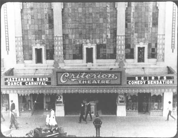 Criterion Theater, Oklahoma City, OK.  Photo from 1921 era