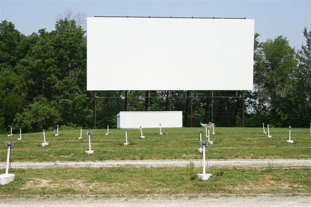 Drive In Movie Theatre In Wabash Indiana