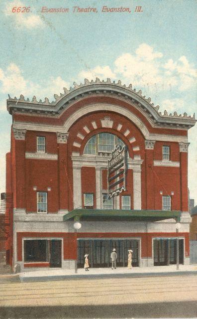 Valencia (Evanston) Theater ca. 1918