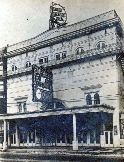 EMPRESS (CLUB, EMBASSY) Theatre;  Milwaukee, Wisconsin.