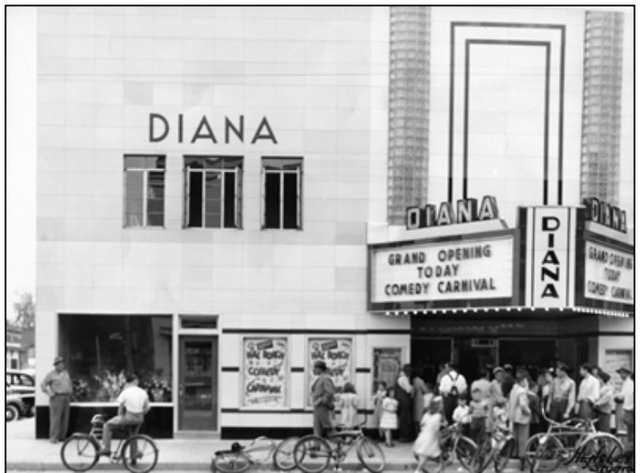 Diana Theatre Reopening 1948