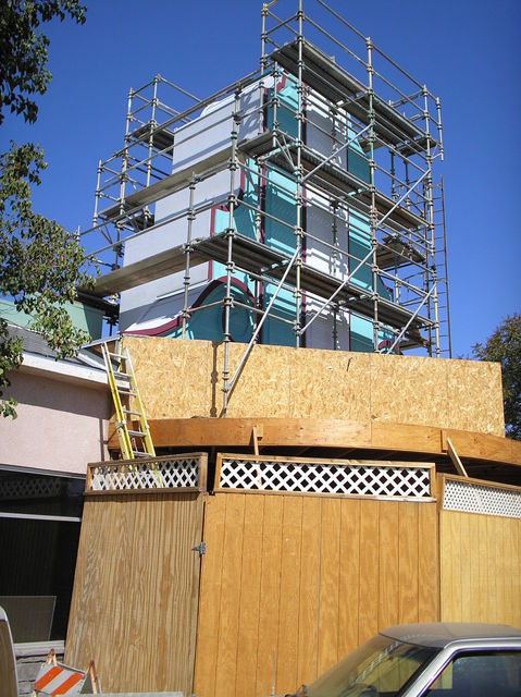 Avenal Tower Construction