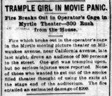 MYRTLE Theatre; Chicago, Illinois.