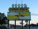 Getty 4 Drive-In