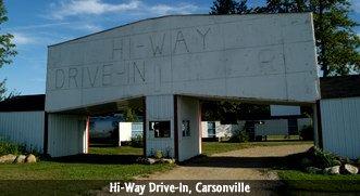 Hi-Way Drive-In, Carsonville, MI