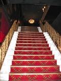 &lt;p&gt;Stairway upstairs to foyer and main lobby/lounge&lt;/p&gt;