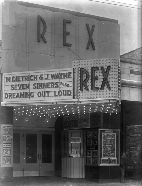 NEW REX (LAWNDALE, GRANDALE, GENE) Theatre; Chicago, Illinois.