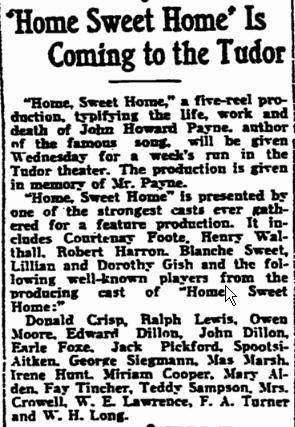 Early `40's review courtesy of Matthew Dillon, son & grandson of the Dillon's in the piece.