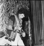 <p>Legendary Jimmy Hendrix on stage at the Ritz/ABC</p>