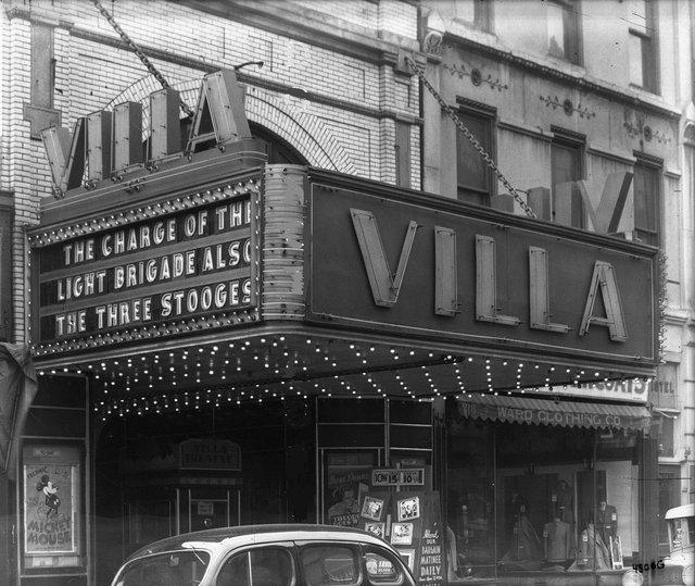 VILLA (HALSTEAD, ODEON) Theatre; Chicago, Illinois.