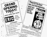 August 5th, 1970 grand opening ad