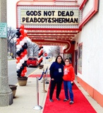 Opening of God's Not Dead at Majestic Streator
