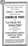 "reopening as ""Cinéma de Paris"" after WWII"