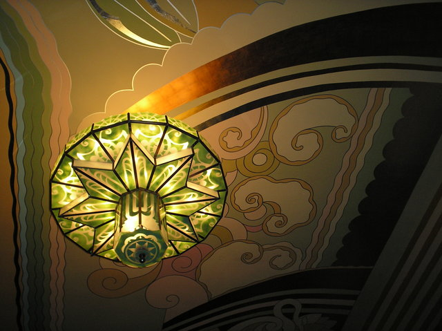 Ceiling, Chandelier