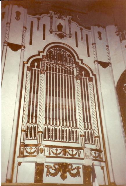 Fairfax Organ Grille