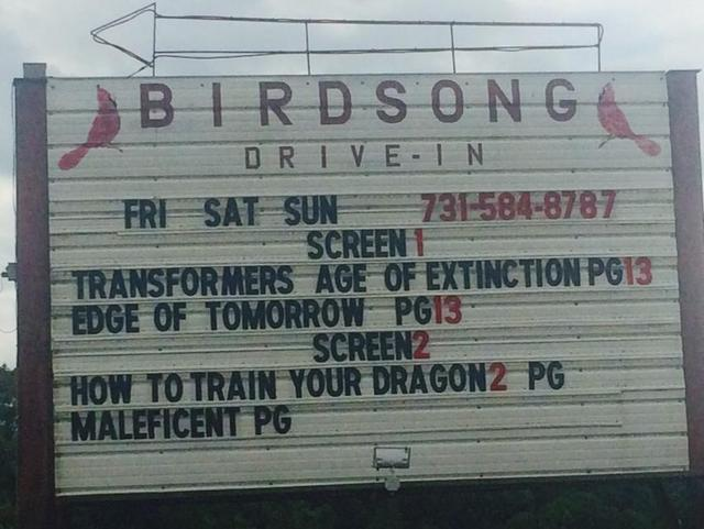 Birdsong Drive-In