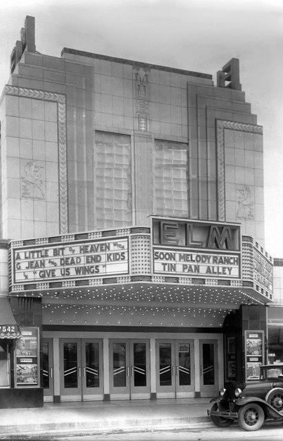 ELM Theatre; Elmwood Park, Illinois.