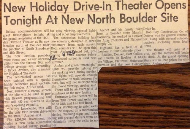 Holiday info courtesy of Karen Eifler.