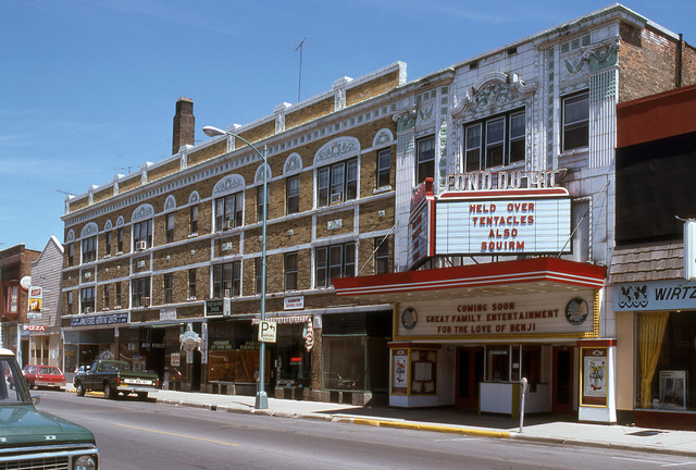 Fond du Lac Theatre in 1977