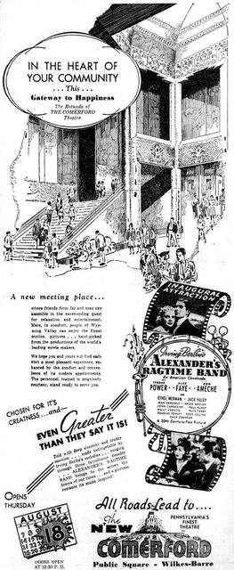 August 15th 1938 grand opening ad