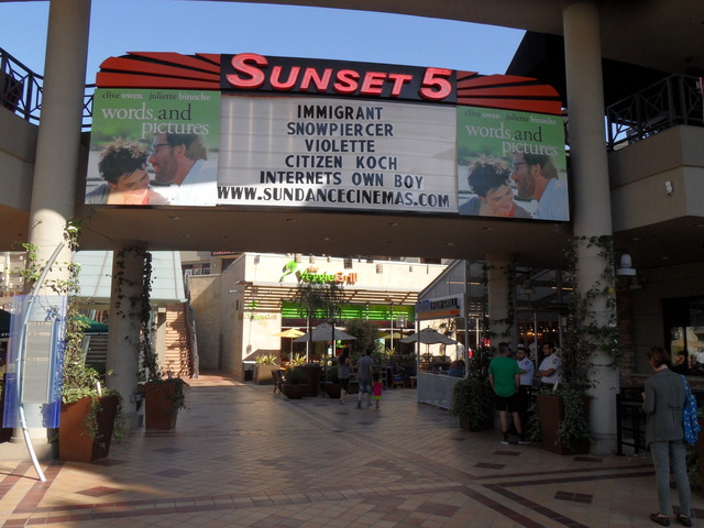 AMC Dine-In Sunset 5