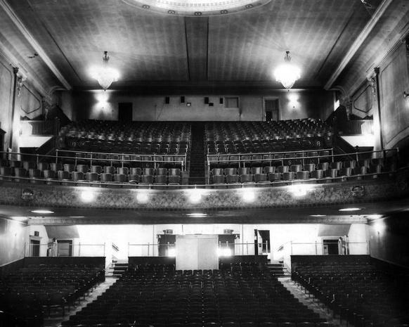 Strand Theatre interior, Elmira, NY