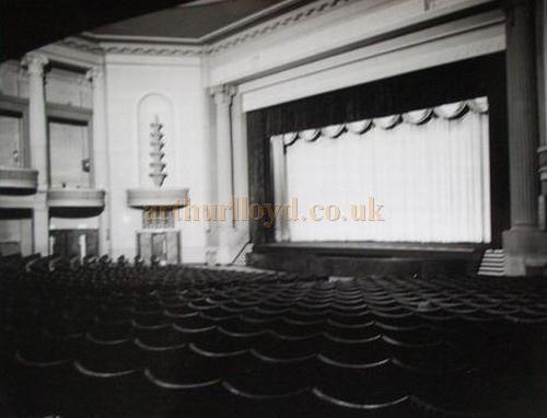 ABC Wigan auditorium from centre stalls