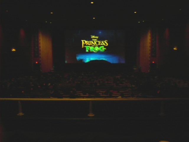 Princess and the Frog - Ziegfeld, 11-25-09