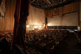 Joy Theater, New Orleans, LA.  In shambles prior to restoration