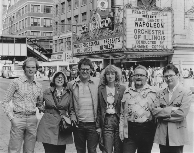 NAPOLEON (1927) at the Chicago in 1981.