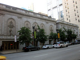 Harriis Theatre, Se;wyn Theatre (Chicago) front facades