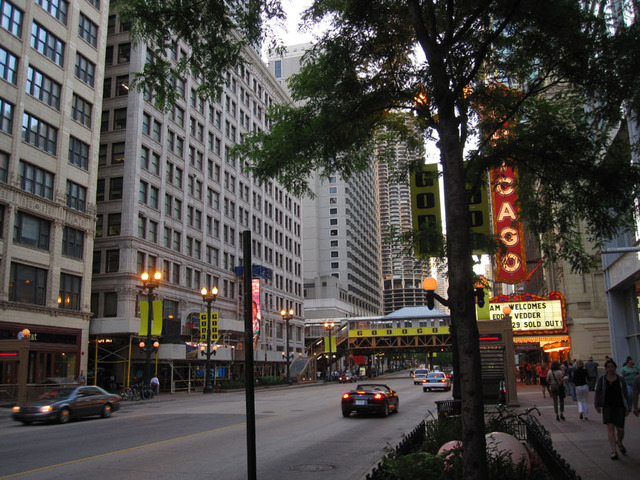 State Lake Theatre & Chicago Theatre