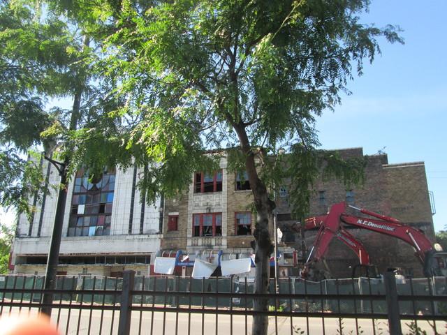 Demolition...