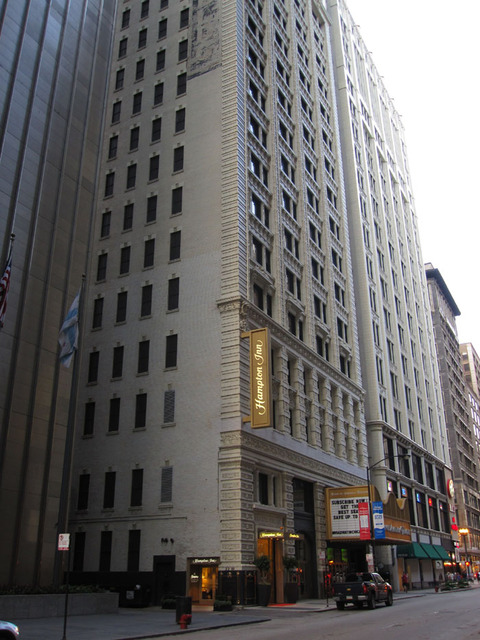 Bank of America (Shubert) Theatre (Chicago) - Front Facade