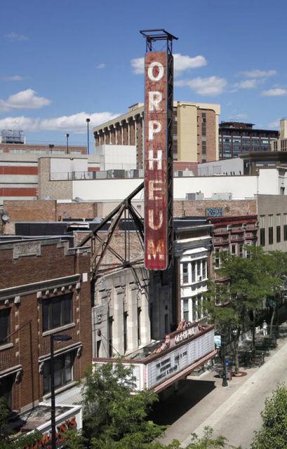 ORPHEUM Theatre; Madison, Wisconsin.