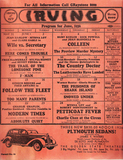 Irving Theatre Program