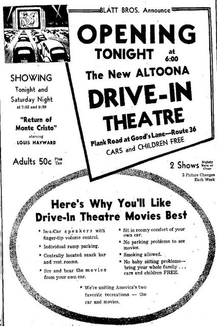 April 23rd, 1948 grand opening ad