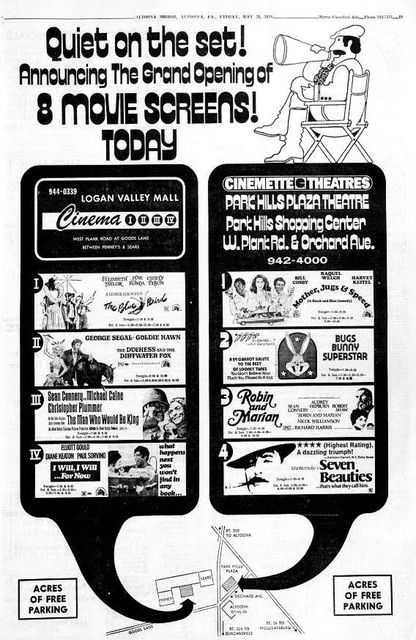 May 28th, 1976 grand opening ad