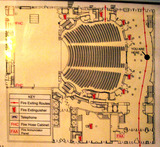 Ford Center (Oriental Theatre), Chicago - floor plan, main level