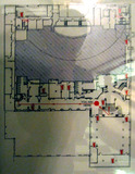 Chicago Theatre, Floor Plan of Basement