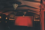 <p>Auditorium, photographed in January 2000.</p>