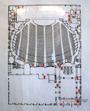 Chicago Theatre, Floor Plan of Orchestra Level