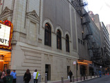 Chicago Theatre, Exterior - Right side of Theater