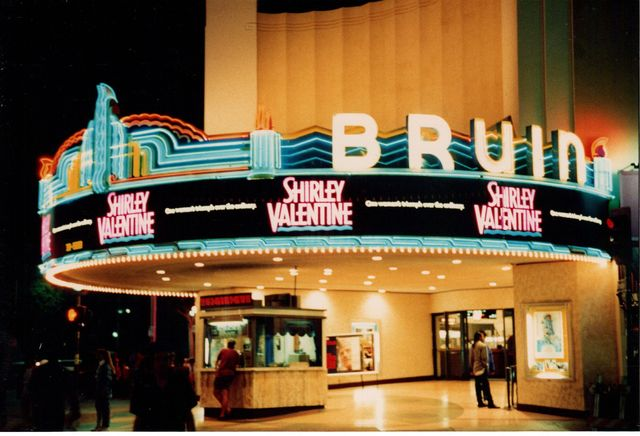 Bruin at Night, October, 1989