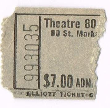 Theatre 80 St. Marks