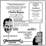 Opening Ad for Paramount