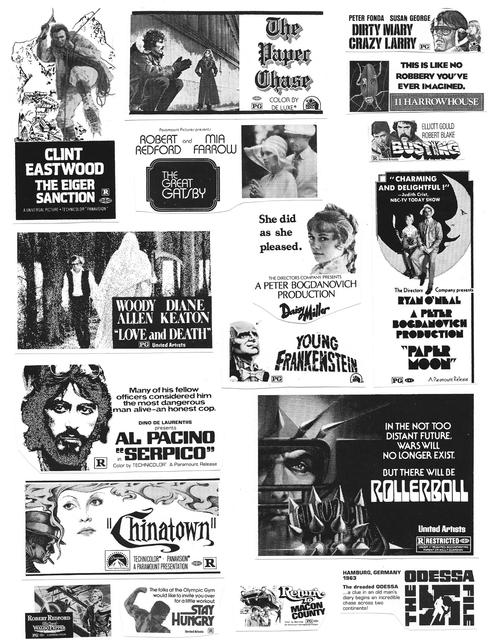 Movie Pressbook Clip-Art