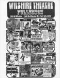 Wilshire Theatre Schedule