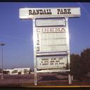 Randall Park Mall Cinema Marquee