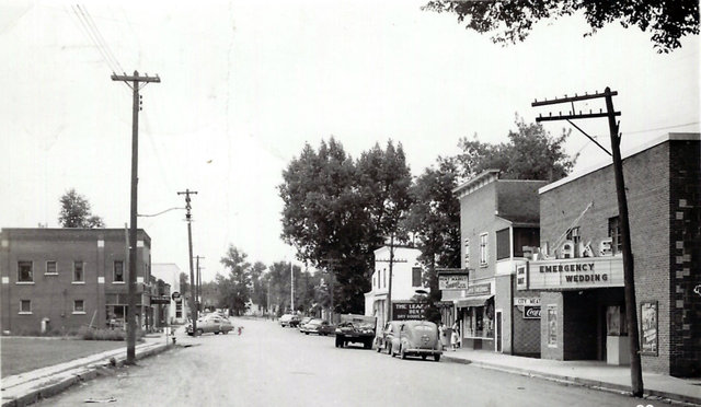 LAKE Theatre; Turtle Lake, Wisconsin, in 1950.